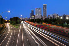 Free Chicago Lake Shore Drive. Royalty Free Stock Image - 25262536