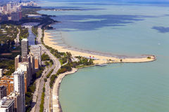 Chicago Lake Shore Drive Royalty Free Stock Images