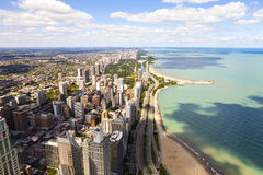 Chicago Lake Shore Drive Stock Photography