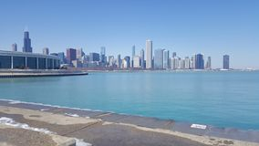 Chicago Lake shore stock image