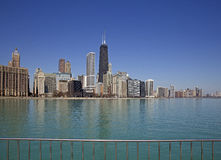 Chicago lake view Royalty Free Stock Image