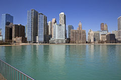 Chicago lake view Stock Image