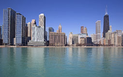 Chicago lake view Stock Photography