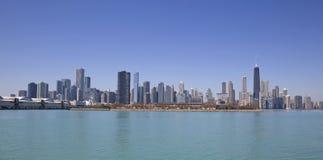 Chicago lake view stock photos