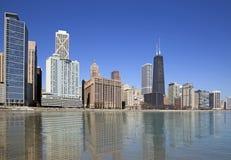 Chicago lake view Royalty Free Stock Photos