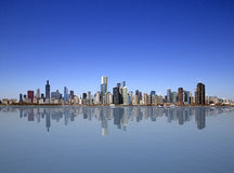 Chicago lake view Royalty Free Stock Photography