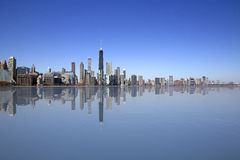 Chicago lake view Stock Images