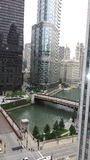 Chicago lake stock photo