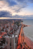 Chicago Lakefront Royalty Free Stock Photography