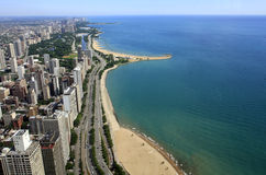 Chicago Lakefront Stock Photo
