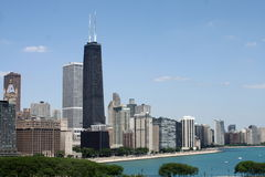 Chicago Lakefront Skyline stock photos