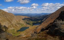 Chicago Lakes Basin. In the Mount Evans Wilderness, Colorado Royalty Free Stock Photos