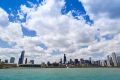 Chicago lakeshore Fotografering för Bildbyråer