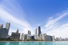 Chicago lakeshore Arkivbilder