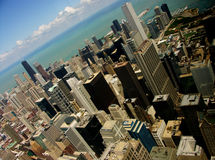 Chicago Lakeview stock photo