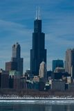 chicago landmark royaltyfri bild