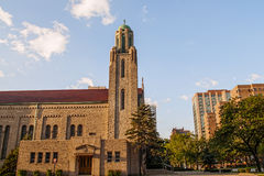 Chicago landmark church Royalty Free Stock Photos