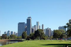 Chicago-Landschaft Lizenzfreie Stockfotos