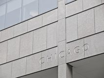 Chicago Lettering Stock Photos