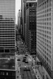 Chicago Daily Life Stock Image