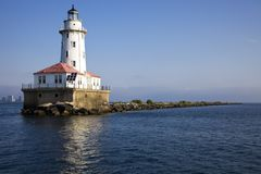 Chicago Lighthouse Royalty Free Stock Photos