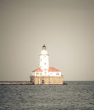 Chicago lighthouse stock photography