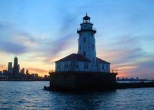 Chicago lighthouse Stock Photos