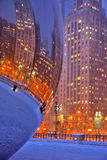 Chicago lights Royalty Free Stock Photography