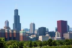 chicago linia horyzontu Obrazy Stock