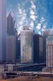 chicago linia horyzontu Zdjęcie Royalty Free