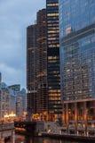 Chicago Loop Stock Photo