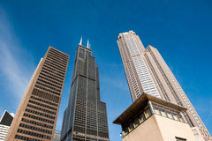Chicago Loop Skyline Stock Photos