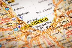 Chicago, los E imagen de archivo
