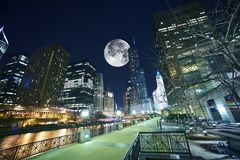 Chicago los E.E.U.U. Imagen de archivo