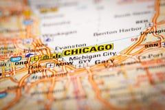 Chicago, los E.E.U.U. imagen de archivo libre de regalías