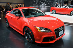 Audi przy Chicagowskim Auto przedstawieniem obrazy stock