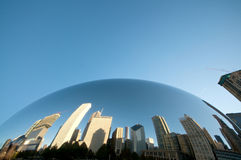 Chicago Magic Bean. Magic Bean at Millennium Park in Chicago Stock Photo