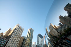 Chicago Magic Bean Stock Image
