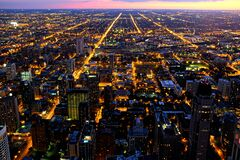 Chicago Magnificent Mile Stock Image