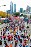 Chicago-Marathon Stockfotos