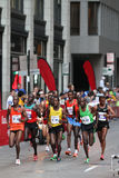 Chicago Marathon - Leaders Pack Royalty Free Stock Images