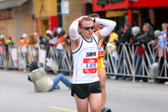 chicago maraton Arkivbild