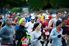 Chicago maraton Royaltyfri Bild