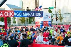 Chicago maraton 2013 Royaltyfri Bild
