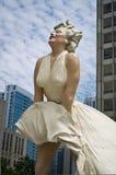 chicago marilyn monroe staty Royaltyfria Foton
