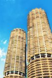 Chicago car park building. Chicago Marina car park building royalty free stock photo