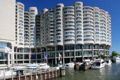 Chicago marina Royalty Free Stock Images