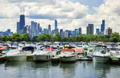 Chicago Marina Stock Photo