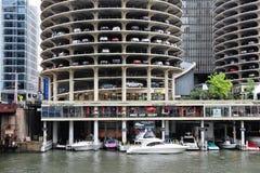 Chicago Marina Towers Photo stock
