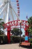 chicago marinpir Royaltyfria Foton